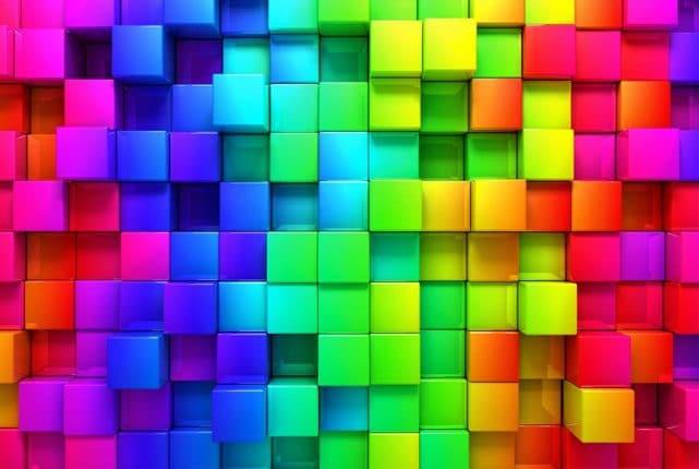 Forskellige farver
